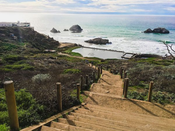 Sutro Baths, Most Beautiful Places to See in California