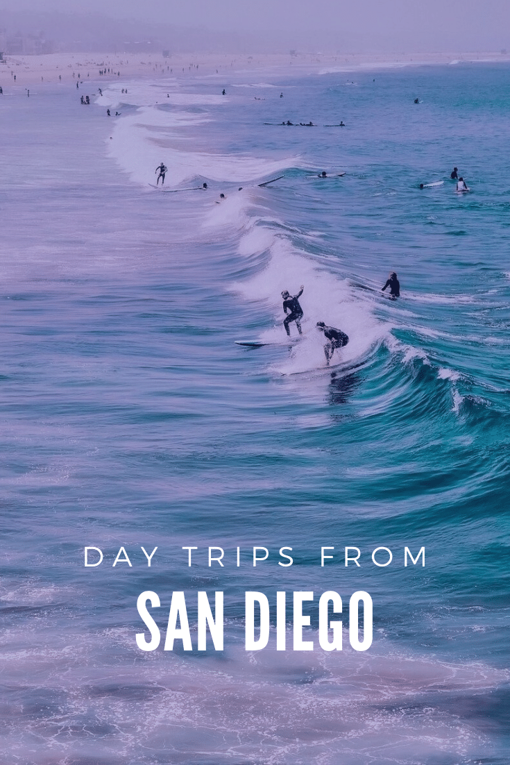 day trips from San Diego, surfing