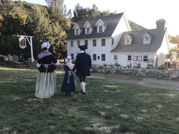 Oak Glen, colonial dress