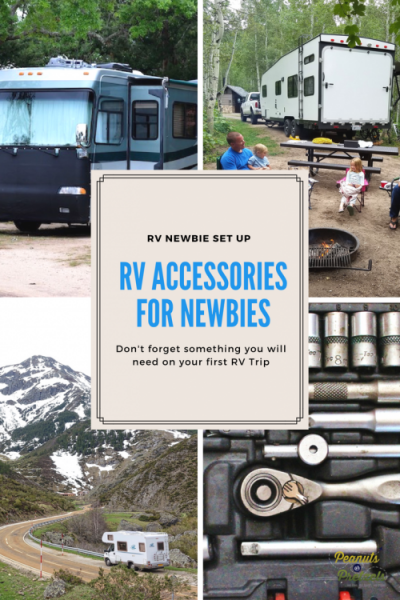 RV Accessories, newbie RV owner