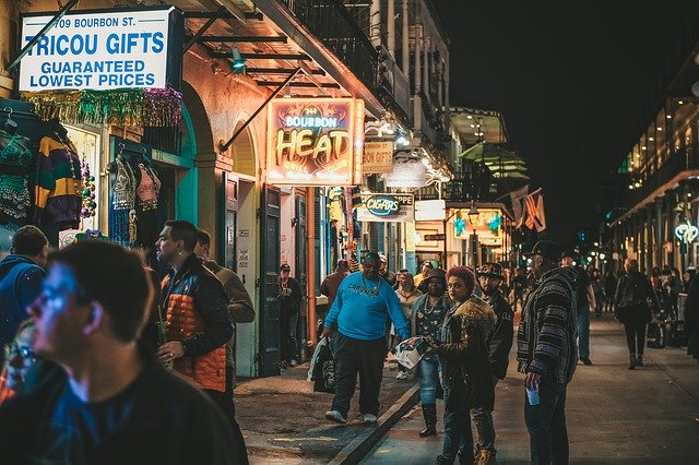 Things to do in New Orleans, Bourbon Street,