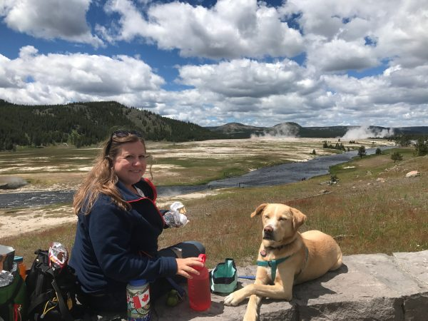 Hana in Yellowstone National Park, National Park pet policy,