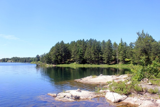 Voyageurs national park water